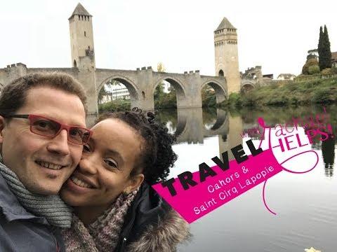 Découvrir Cahors et Saint-Cirq-Lapopie, FRANCE (Travel with Rachael HELPS).