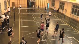 Волейбол. Студенческая Суперлига (муж) МАДИ-МГТУ (Баумана) (3:0) 14-12-2015