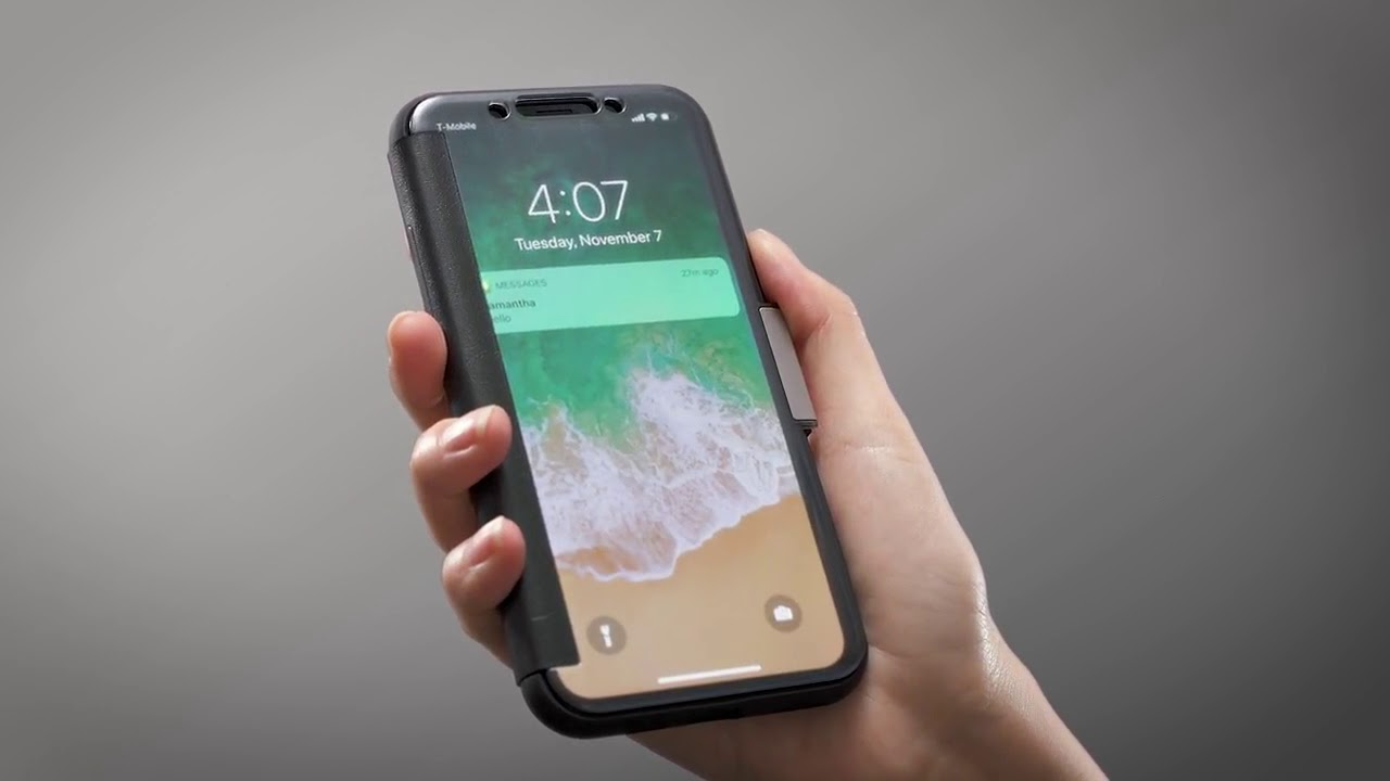 sports shoes cb8ad 58c32 moshi StealthCover for iPhone X