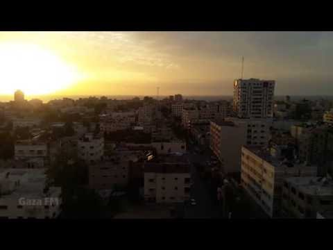 sunset - Gaza City