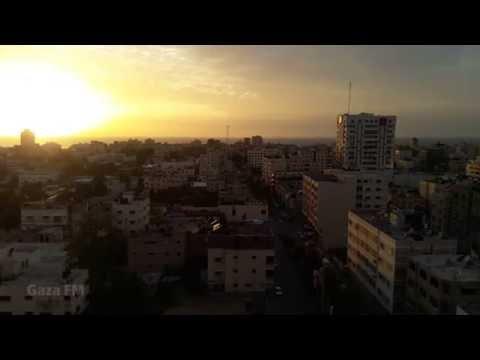sunset - Gaza City