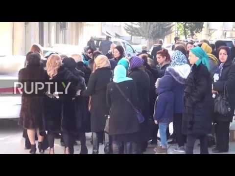 Azerbaijan: Funeral held in Baku for Russian victim of Istanbul attack