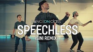 Speechless (Sini Remix) - Robin Schulz Ft. Erika Sirola | Poppin John Choreography | DanceOn Class