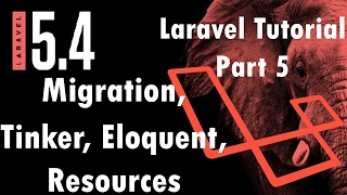 Laravel 5.4 Tutorial | Eloquent, Migration, Tinker and Resource Controller | Part 5 | Bitfumes