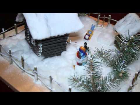 поделка в тему садик на сказка зимняя