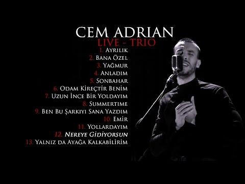 Cem Adrian - Nereye Gidiyorsun (Live - Trio)