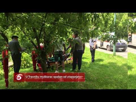 U Travniku muškarac spašen od utapanja