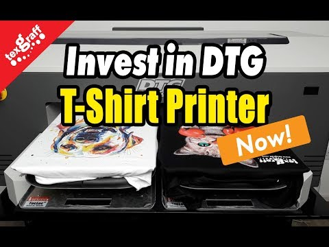 Why to Invest in DTG T-shirt Printers NOW – Start T-Shirt Printing Business