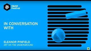 Discussing art in public spaces with Eleanor Pinfield (Art on the Underground)