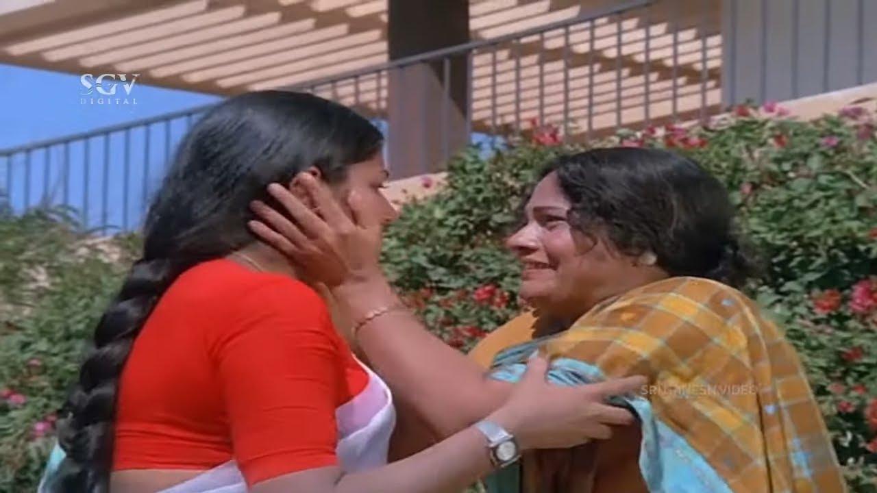 Leelavathi escape from Mental Hospital   Auto Raja Kannada Movie Scene   Shankarnag, Gayathri
