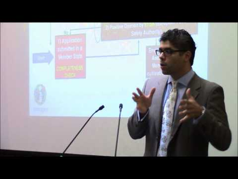"Dr Michele Mastroeni - ""Regulating Genetically Modified Crops: A European Perspective"" (10/18/2013)"