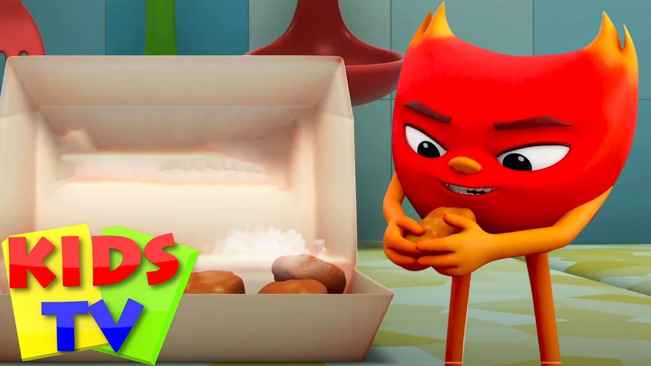 حار جدا في التعامل | رسوم متحركة مضحكة | Kids Tv Arabic | الرسوم المتحركة للأطفال | التعليم