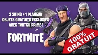 HAVE THE NEW FORTNITE PERSONNAGES WITH TWITCH PRIME ON PC/PS4/XBOX FOR FREE!