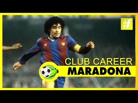 Maradona - Club Career | Football Heroes