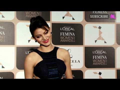 Urvashi Rautela at Loreal Paris Femina Women Awards 2015
