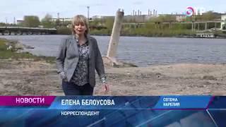 Малые города России: Сегежа - дом, где родился Геннадий Шпаликов