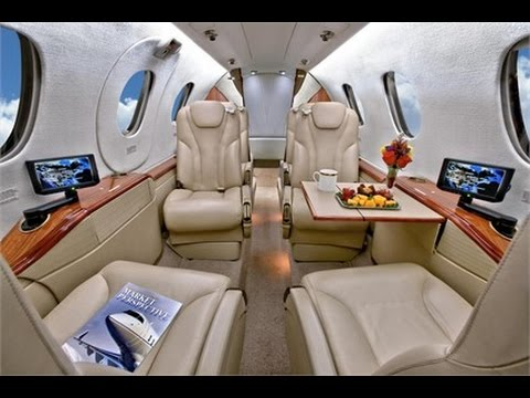 BeechCraft Premier 1A Interior Private Jet Air Charter Flight Service