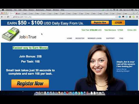 JobIsTrue.com Scam Review | This Job Is A True Scam, Watch This Review Video Before Joining
