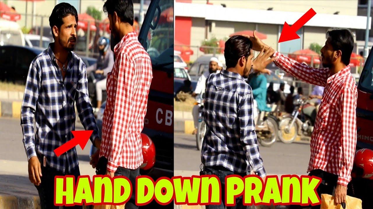 Hand Down talking Prank   Prank In Pakistan I Jugnoo Pranks