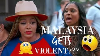 Recap/Review of Basketball Wives Season 7 | Malaysia gets violent! (Season 7, Ep. 16)