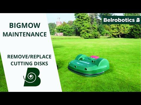 Belrobotics- Parcmow/ Bigmow Connected Line Maintenance: Remove/ Replace The Cutting Discs
