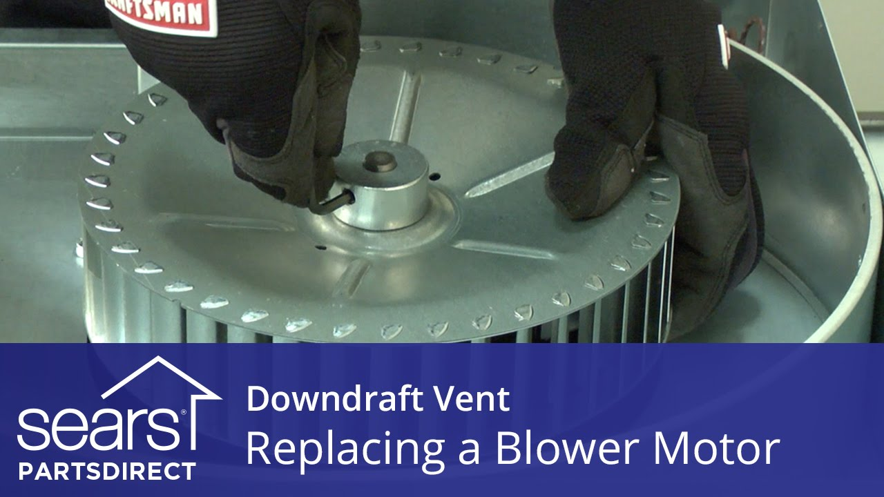 Replacing The Blower Motor In A Downdraft Vent Youtube Compressor Diagram Parts List For Model Kburt3655e01 Thermadorparts