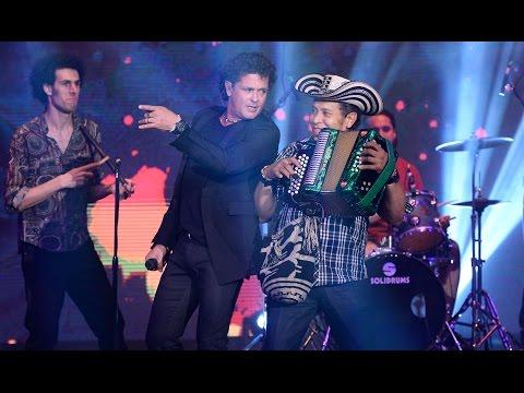 "Carlos Vives canta ""La Bicicleta"" en vivo - Susana Giménez"