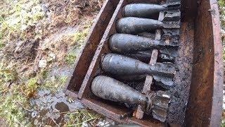 Нашли минометную позицию  и пропавших солдат, металлоискатель и поисковый магнит помогли