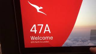 Trip Report QF9 and QF10 on the new 787 Dreamliner - Economy