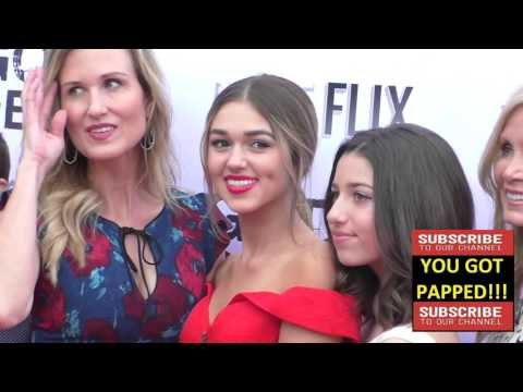 Sadie Robertson and Korie Robertson at the Gods Not Dead 2 Premiere at Directors Guild in West Holly
