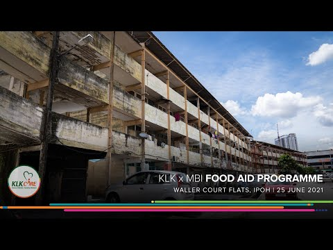 KLK x MBI Food Aid Programme | Waller Court Flats, Ipoh