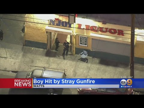 7-Year-Old Child Injured In Watts Shooting