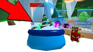 OPENING SEVERAL of the BEST CHRISTMAS EGG BUBBLE GUM SIMULATOR-ROBLOX