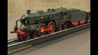 MINITRAINS 1/220 蒸気機関車 オリエント急行 ATLAS
