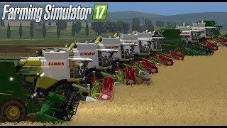 Takich żniw jeszcze nie było! 12 KOMBAJNÓW! S5E1 | Farming Simulator 17