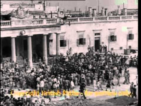 Malta Receives its George Cross - British Pathe (15th April 1942)