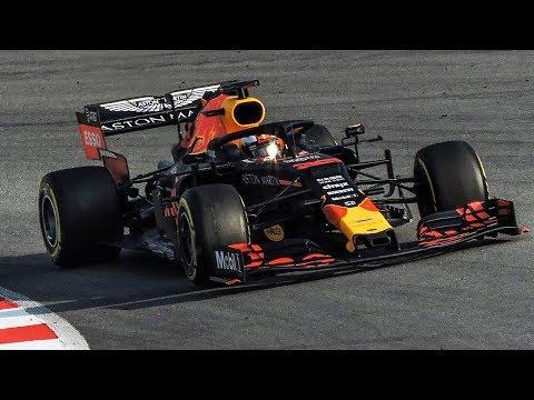 RedBull Honda RB15 On Track | F1 2019 Pre Season Testing | FullGasMedia