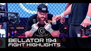 Bellator 194 Highlights: Roy Nelson Not Happy Losing Decision to Matt Mitrione