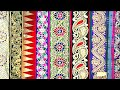 Latest and Modern Designer Laces For Sarees and Dresses
