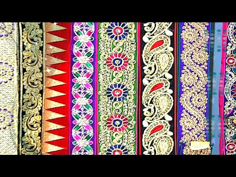 Latest And Modern Designer Laces For Sarees Dresses