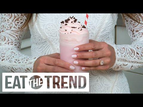 Starbucks' Love Bean Frappuccino Recipe   Eat The Trend