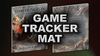 GAME TRACKER MAT (D100 DUNGEON)
