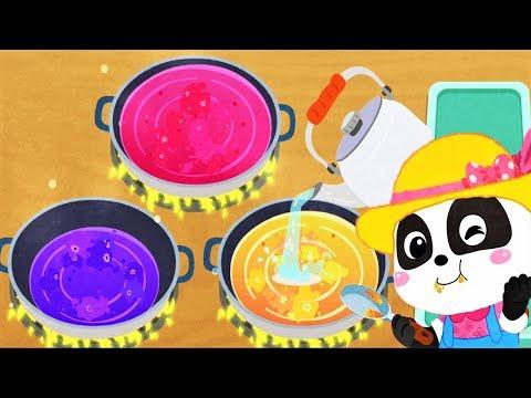 Baby Panda's Dream Garden - Play Kids Making Yummy Foods: Snacks, Sauce - Fun Cooking Children Games