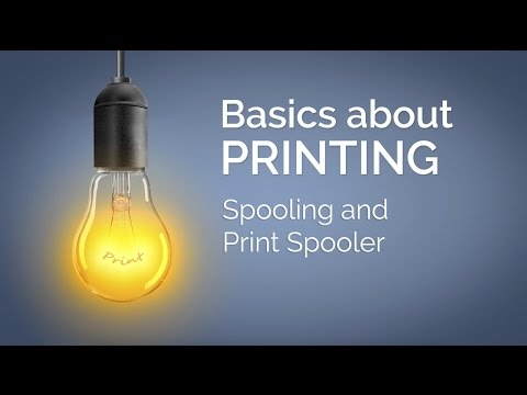 Spooling and Print Spooler: This is how it works (03)