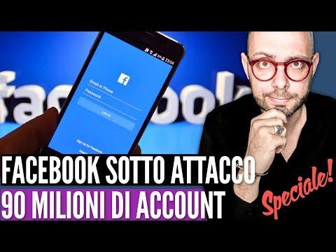 Falla in Facebook: violati 90 milioni di profili