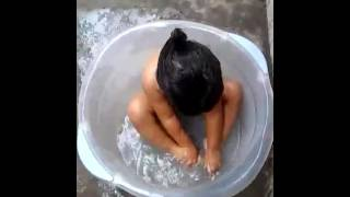 Banho de bacia