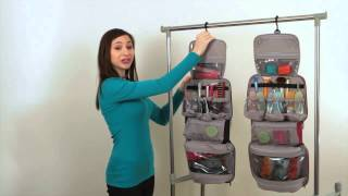 How to Use Your Travelon Mini Cosmetic Organizer/Travel Case