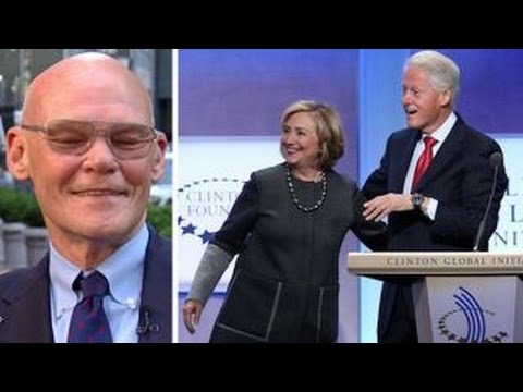 Carville says people will die if Clinton Foundation shutters