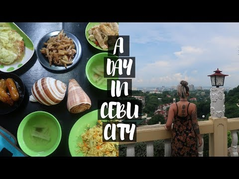 A DAY IN CEBU CITY // TEMPLES + EPIC FILIPINO VEGAN CAFE