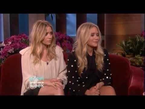 Mary-Kate & Ashley Olsen Interview On Ellen - September 2010